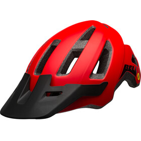 Bell Nomad MIPS Casco, matte red/black